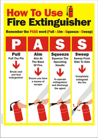 Orange County Fire Protection :: How To Use A Portable Fire